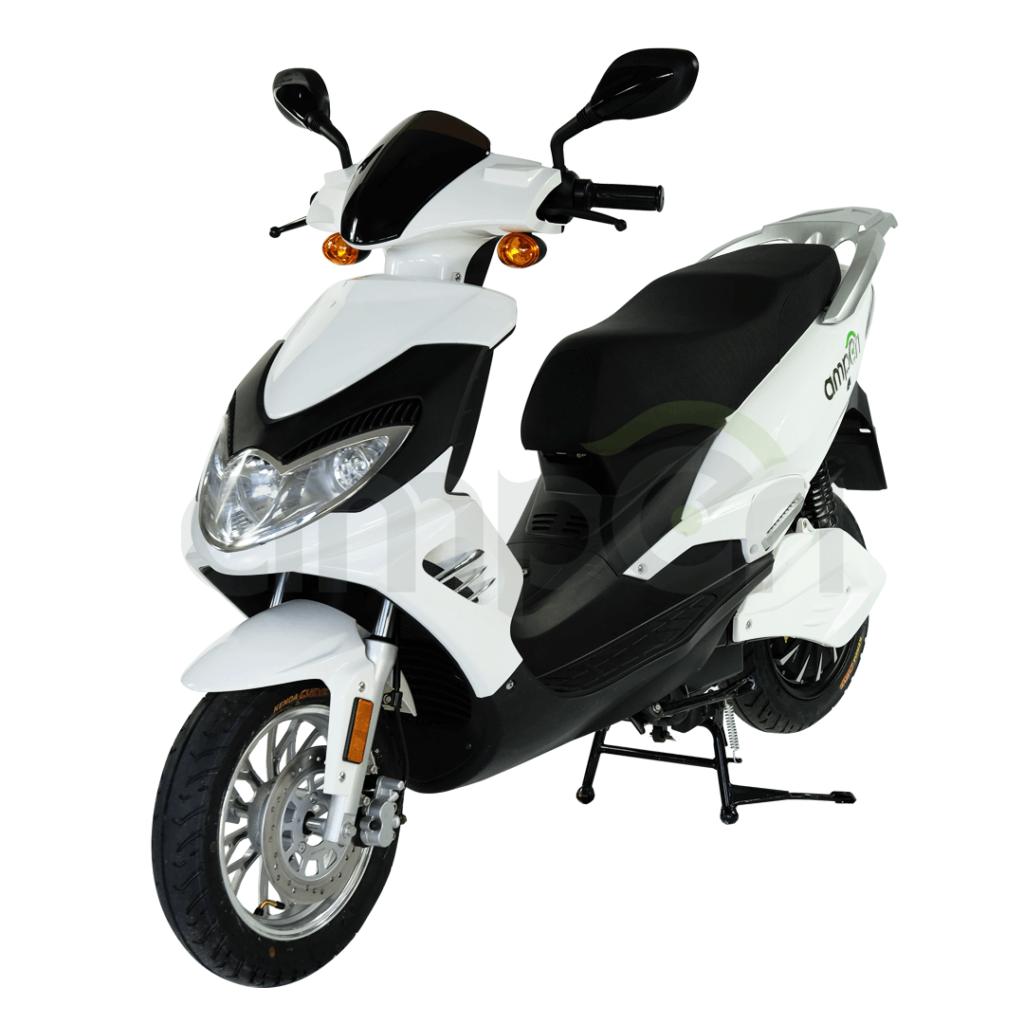 amperi range elektryczny skuter dostawczy